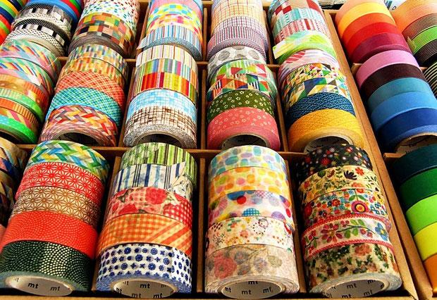masking tapes - japanische Klebebänder von Kamoi