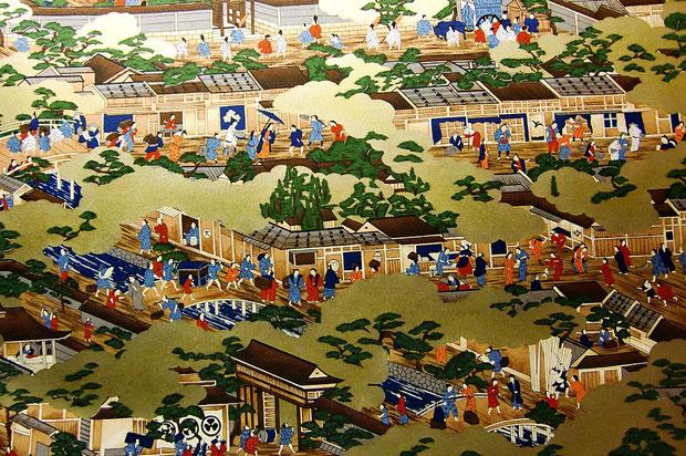 Sogara Yuzen, japanisches Siebdruckpapier
