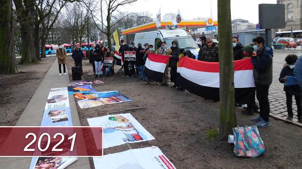 Stop the WAR in Yemen - Friedensaktionen 2021