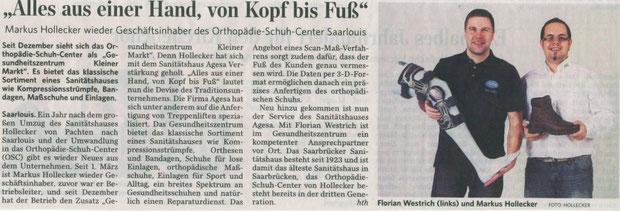Saarbrücker Zeitung März 2012