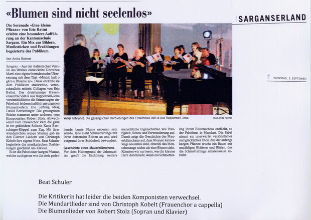 Serenade in Sargans