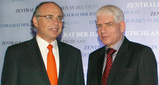 Alter und neuer Präsident? Dr. Josef Schuster (r.) möchte Dr. Dieter Graumann als Präsident beerben. Foto: A. Beygang