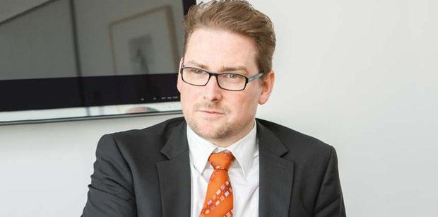 Helge Eikelmann, Repräsentant des neu eröffneten israelischen Generalkonsulats in Frankfurt am Main.