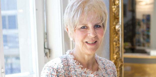 """Gabrielle Rosenstein, Präsidentin des """"Verbandes Jüdischer Fürsorgen der Schweiz (VSJF)"""".Foto A. Beygang"""