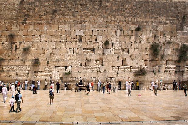 The men section at the Western Wall, Jerusalem, Israel © Sabrina Iovino   JustOneWayTicket.com