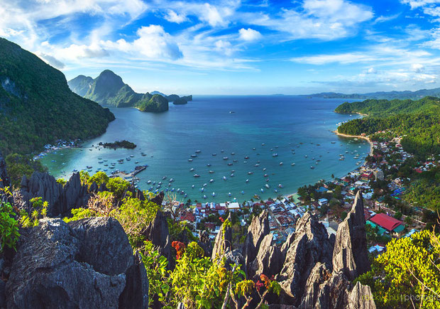 Tawak Peal in El Nido, Palawan | Coron Or El Nido? Which One Is Really Better? | A Travel Guide to Philippines Last Frontier | via @Just1WayTicket | Photo: Rocky Chu