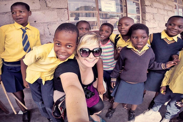 Visiting a local school | Volunteering with Wildlife and Children in South Africa - My Enriching Experience | via @Just1WayTicket