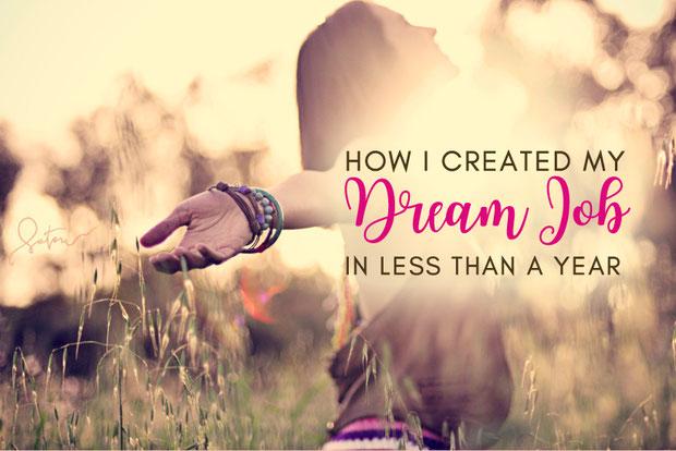 How I Created My Dream Job In Less Than A Year (Just By Doing What I Love) - Photo © Stephanie Dandan | Infinitesatori.org