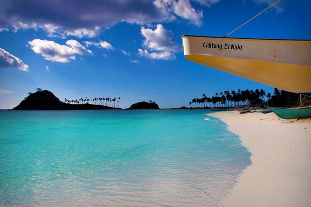 Calitang Beach, North of El Nido, Palawan, Philippines © Sabrina Iovino | @Just1WayTicket