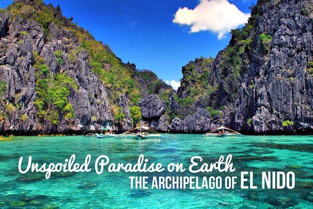 Unspoiled Paradise on Earth - The Archipelago of El Nido. Photo taken at the Small Lagoon, El Nido, Palawan, Philippines 2013 © Sabrina Iovino | JustOneWayTicket.com