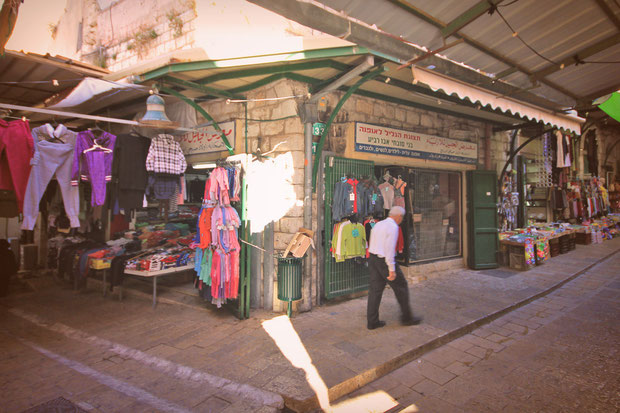 Nearby markets in the Old City - Hotel Review: Fauzi Azar Inn - A 200 year old Arab Mansion in Nazareth, Israel © Sabrina Iovino | JustOneWayTicket.com