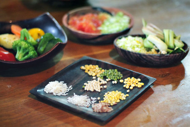 Ayurveda Food | The Sukhavati Bali - How 10 Days in an Ayurvedic Wellness Yoga Retreat Reset my Body, Mind and Soul | A Holistic Experience you won't forget... | via @Just1WayTicket
