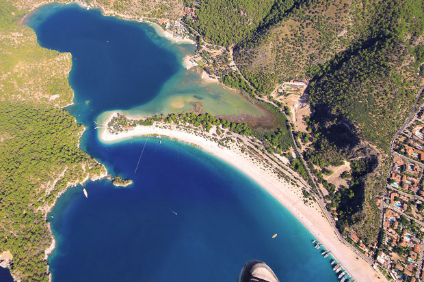 Stunning views over Ölüdeniz, Turkey 2013 © Sabrina Iovino | JustOneWayTicket.com