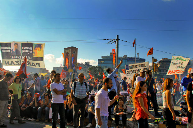 Violent clashes and riots @ Taksim Square in Istanbul Turkey, June 2013 © Sabrina Iovino