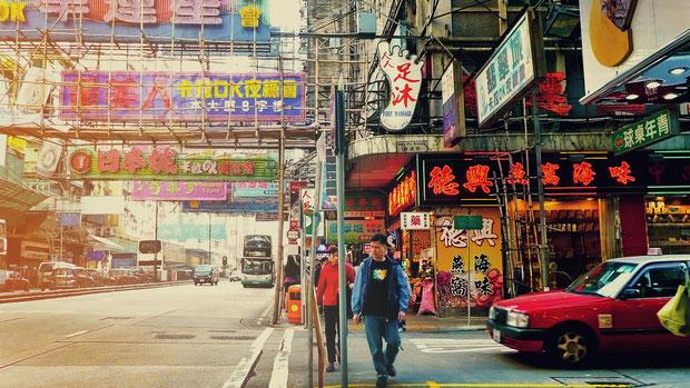 Getting lost in the streets of Kowloon, Hong Kong © Sabrina Iovino   JustOneWayTicket.com
