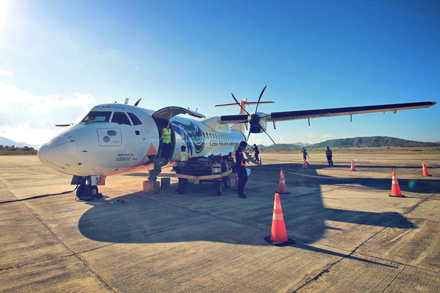 Flying to Coron Airport with Cebu Pacific Air | Palawan | Coron Or El Nido? Which One Is Really Better? | A Travel Guide to Philippines Last Frontier | via @Just1WayTicket