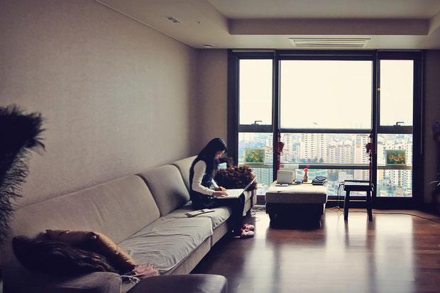 Low-Cost in a High-Rise - My Cozy Homestay Experience in Seoul, South Korea © Sabrina Iovino | JustOneWayTicket.com
