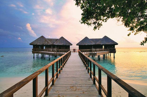 Water Villa at Bandos Island - That one time I got invited to the Maldives © Sabrina Iovino | via @Just1WayTicket
