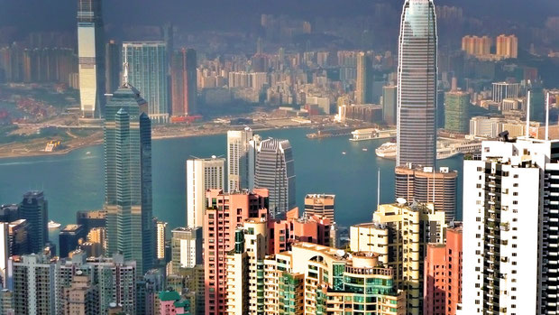 Hong Kong from above © Sabrina Iovino   JustOneWayTicket.com