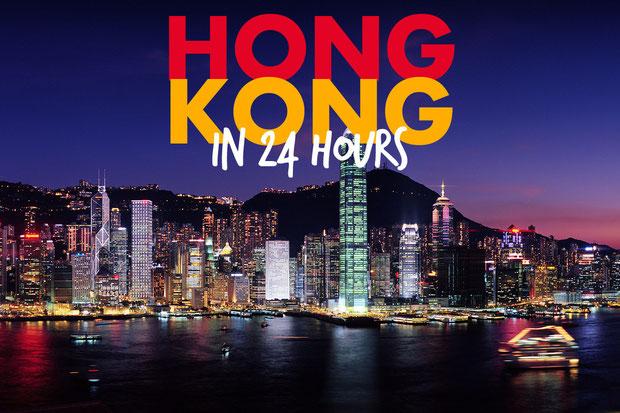 Hong Kong in 24 Hours    JustOneWayTicket.com