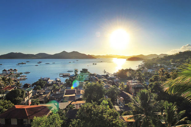 View over Coron, Palawan | Coron Or El Nido? Which One Is Really Better? | A Travel Guide to Philippines Last Frontier | via @Just1WayTicket