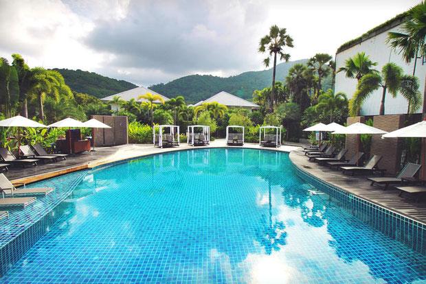 Common Pool at the Novotel Phuket Karon Beach Resort & Spa | Travel Guide To Phuket: Things To Do in Phuket And Places To Stay | via @Just1WayTicket | Photo © Sabrina Iovino