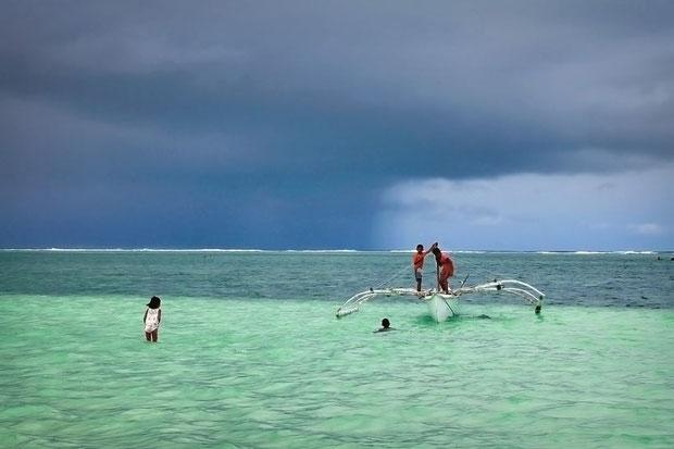 Beautiful in the rain... Siargao, Philippines © Sabrina Iovino | JustOneWayTicket.com