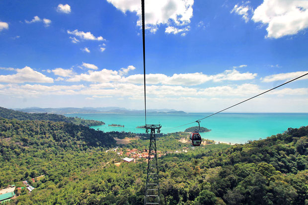 The SkyCab Langkawi: Breathtaking view over the island Langkawi | One of 10 Fun Things and Activities to do in Langkawi, Malaysia © Sabrina Iovino | via @Just1WayTicket