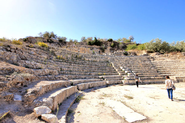 The Roman city Sebastia is known for a number of significant archaeological sites. © Sabrina Iovino | JustOneWayTicket.com