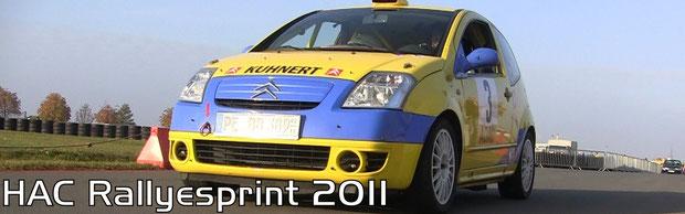 HAC Rallyesprint 2011