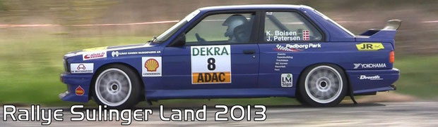 Rallye Sulinger Land 2013