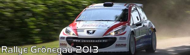Rallye Grönegau 2013