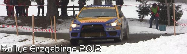 Rallye Erzgebirge 2013