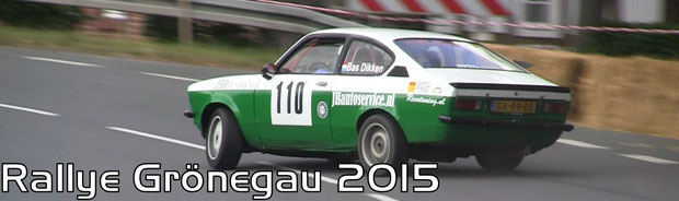Rallye Grönegau 2015