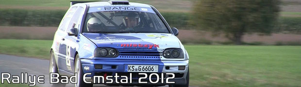 Rallye Bad Emstal 2012