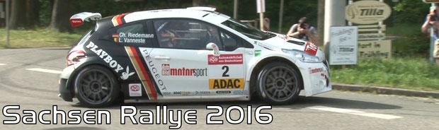 Sachsen Rallye 2016