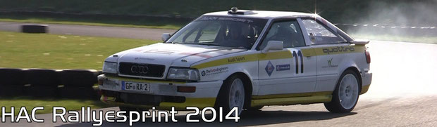 HAC Rallyesprint 2014