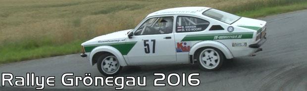 Rallye Grönegau 2016