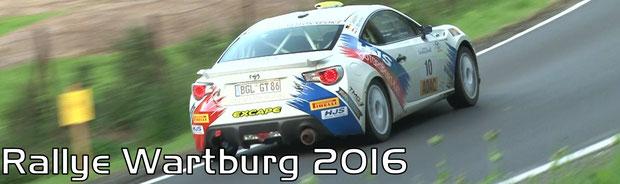 Rallye Wartburg 2016