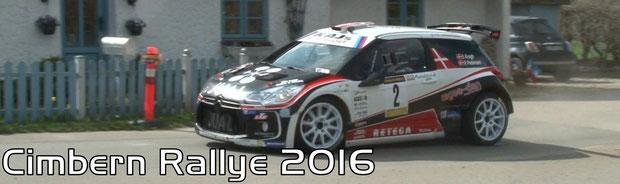 Cimbern Rallye 2016