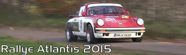 Rallye Atlantis 2015