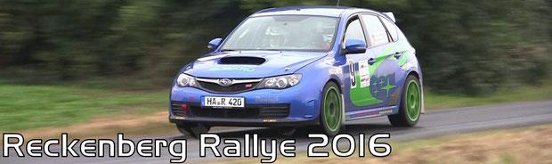 Reckenberg Rallye 2016