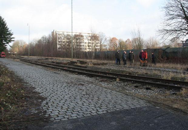 Der Körner Güterbahnhof