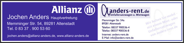 Allianz und Anders Rent