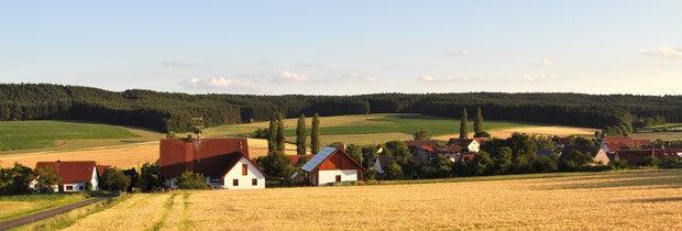 Ferienwohnung Vestenbergsgreuth, Steigerwald, Franken