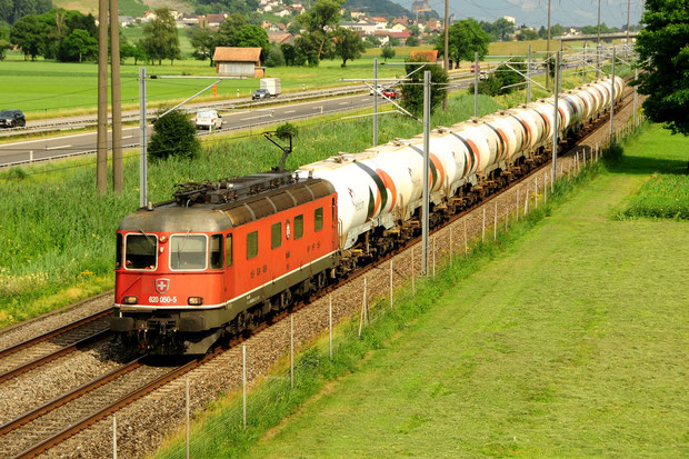 Lafarge Holcim Zement SBB Cargo Re 620 Bahnfoto P.Trippi
