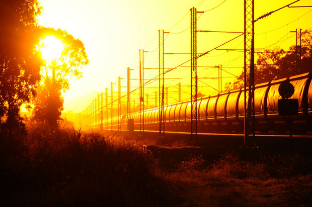 Kohlenzug Australien Queensland Pacific National Bahnfoto P.Trippi