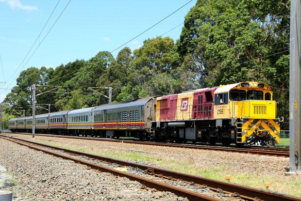 Queensland Rail Australien Bahnfoto P.Trippi