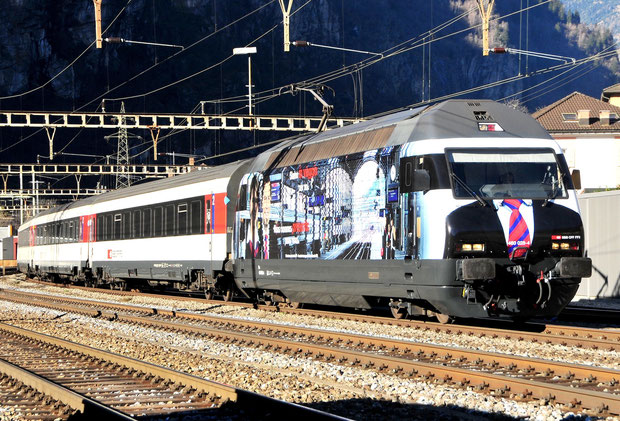 SBB Intercity Re 460 Bahnfoto P.Trippi