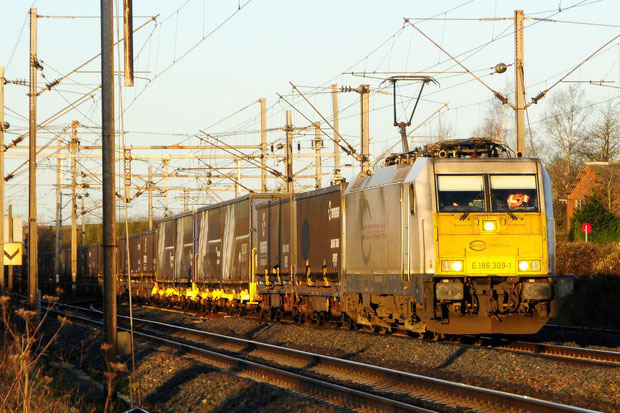 ECR BR 186 Bahnfoto P.Trippi